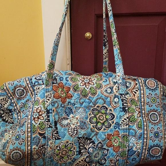 Vera Bradley Bags   Large Duffel Bag Hardly Used   Poshmark b223b67d27